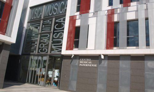 Centro musical paternense fachada